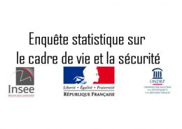 Enquête INSEE cadre de vie et sécurité