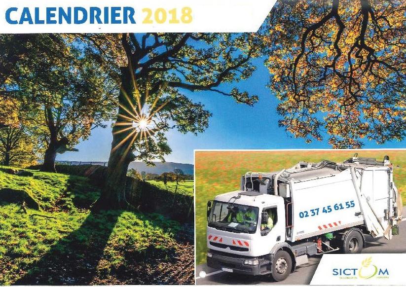 Calendrier Sictom.Collecte Des Ordures Menageres Demandez Le Calendrier 2018