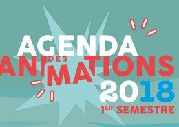 Sortie de l'agenda des animations du 1er semestre