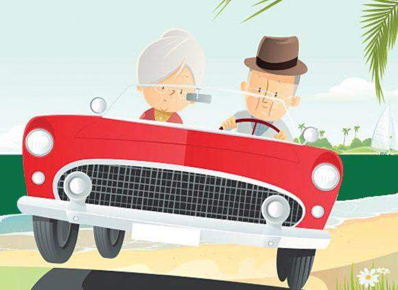 Les Seniors et la route