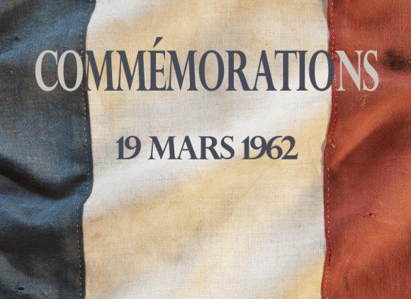 Cérémonie du 19 mars 1962
