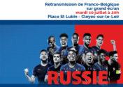 France Belgique sur grand écran