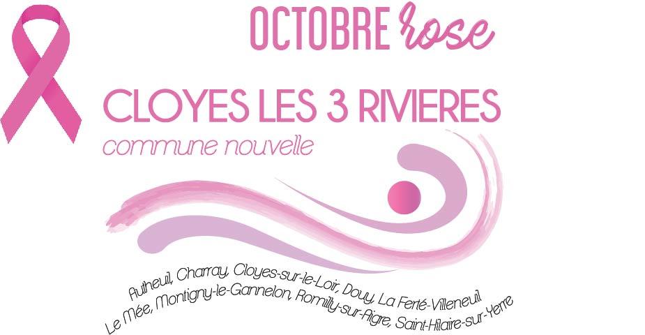 Octobre Rose à Cloyes-les-Trois-Rivières