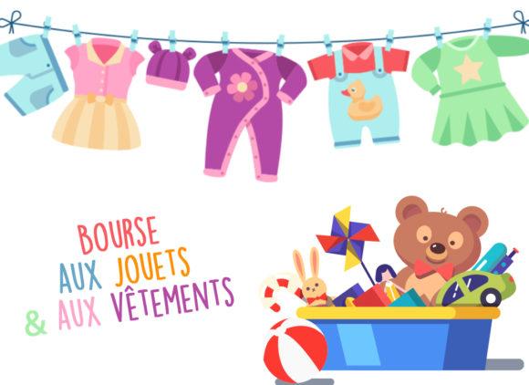 Bourse aux jouets & vêtements