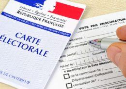 ÉLECTIONS : vote par procuration