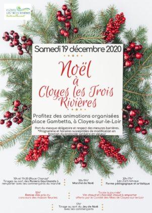 Fêtez Noël à Cloyes les Trois Rivières !